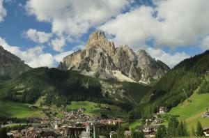 Aperçu d'un paysage des Dolomites
