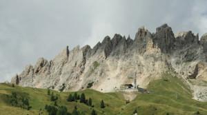 vue des Dolomites