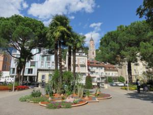 Merano : vue du Duomo