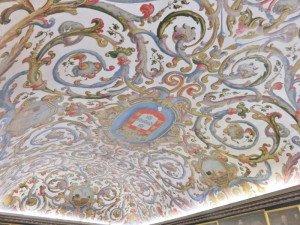 Coimbra plafond bibliothèque