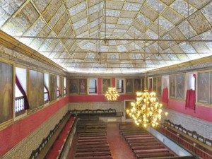 Coimbra Université salle des thèses