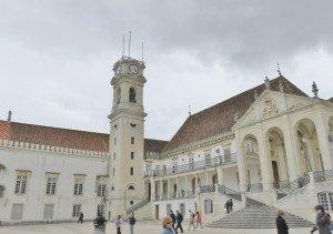 Vue de l'Université et de la tour de l'Horloge