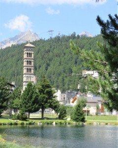 Vue de St Moritz